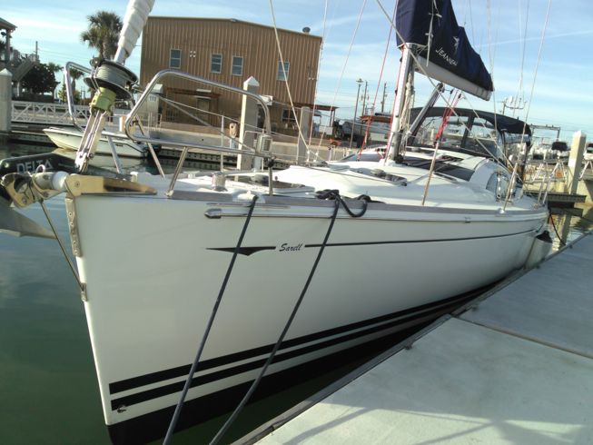50 ft. Jeanneau sailboat yacht relocation