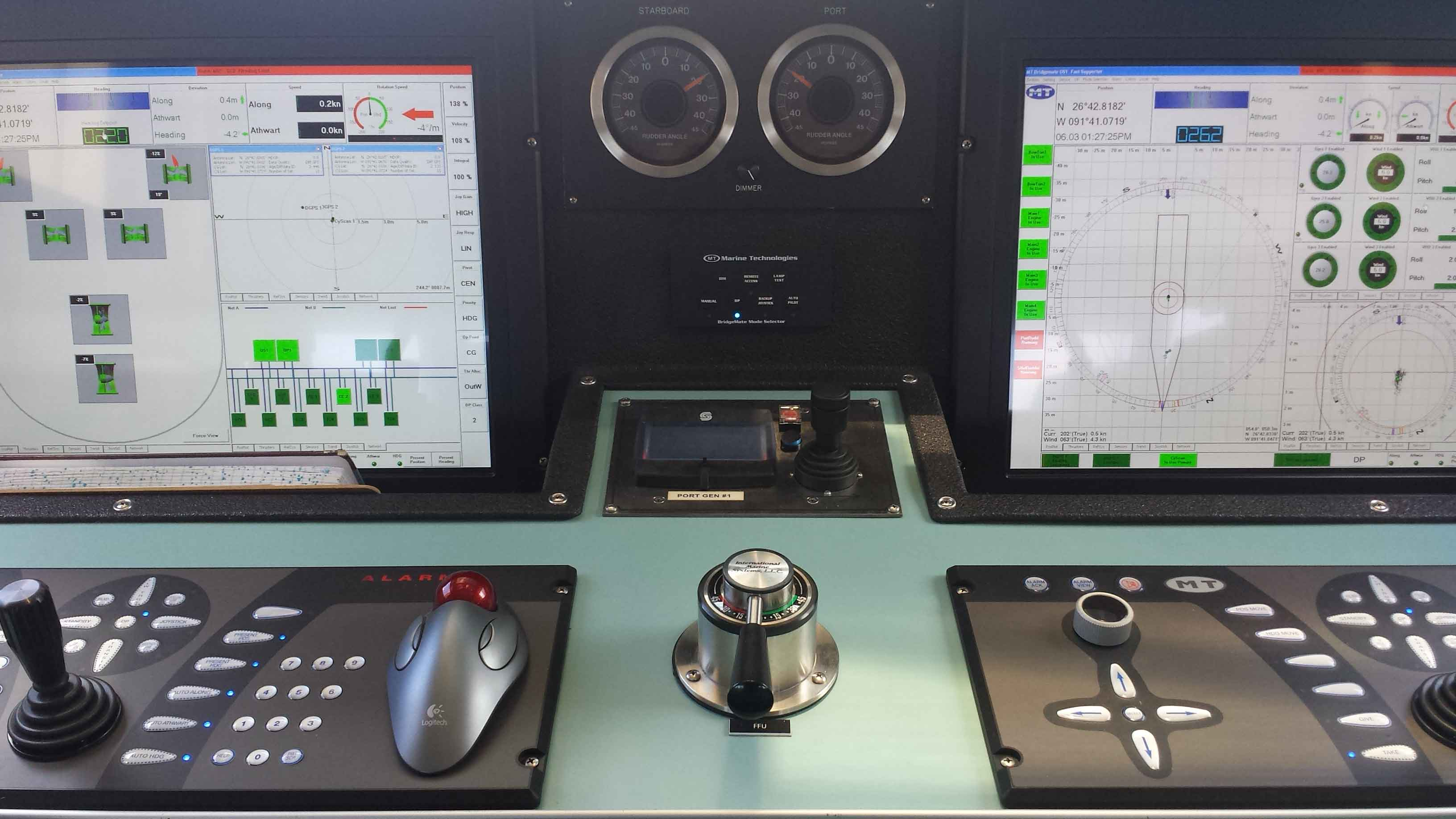 Captain James Lowe Holds A full Dynamic Positioning Operators Certificate
